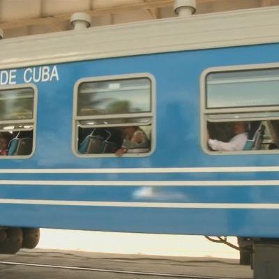 Kuuba sai uusia junavaunuja Kiinasta