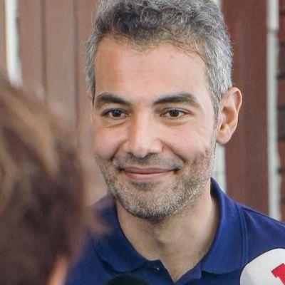 Hussein al-Taee osallistui Karjaalla järjestettävän Faces-festivaalin yhteydessä pidettyyn ulkopoliittiseen paneelikeskusteluun.