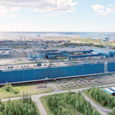 Outokummun Tornion tehtaat.
