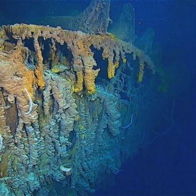 Tuore videomateriaali paljastaa Titanicin hylyn heikon kunnon