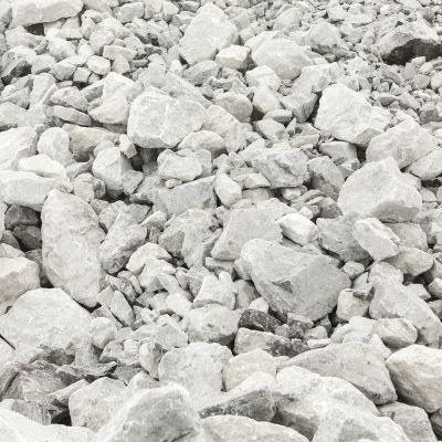 Nordkalkin Lappeenrannan louhoksesta louhittua kalkkia
