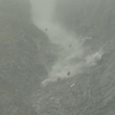Norjassa Mannen-vuorella iso maavyöry