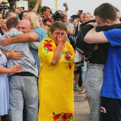 Ryssland och Ukraina utväxlar fångar 7.9.2011