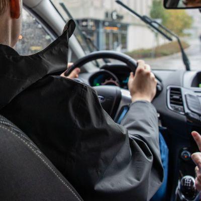 Ajo-opetusta Lappeenrannan keskustassa