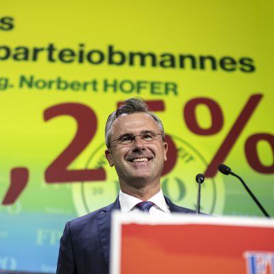 Itävallan oikeistopopulistisen vapauspuolueen (FPÖ) uudeksi puheenjohtajaksi valittiin Norbert Hofer.