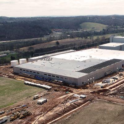 Nokian Renkaiden Daytonin tehdas Yhdysvalloissa.