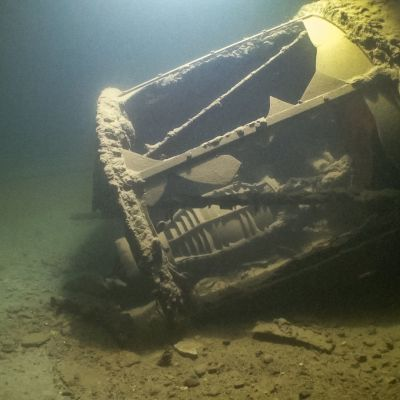 Storbrottenin linssi merenpohjassa