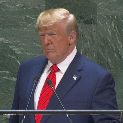 Trumpin puhe yleiskokouksessa