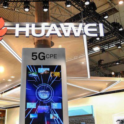Huawein messuosasto Pekingissä.