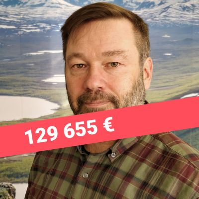 Enontekiön kunnajohtaja Jari Rantapelkonen.