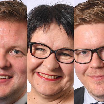 Ville Skinnari, Tarja Filatov, Antti Lindtman ja Mia-Petra Kumpula-Natri.