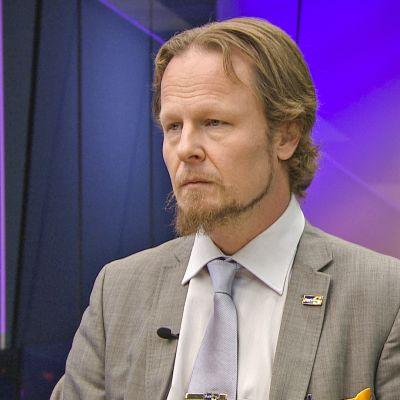 Juho Eerola Ykkösaamun vieraana lauantaina 30. marraskuuta 2019.