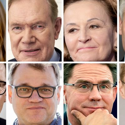 Suomen pääministerit 2000-luvulla.