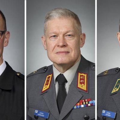 Jori Matias Harju, Jukka Sonninen ja Jukka Jokinen.