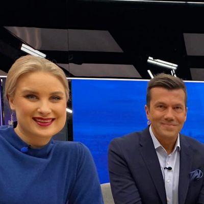 Ylen aamu - Tommy Fränti ja Rosa Kettumäki