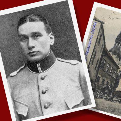 Vanhoja kuvia Tallinnan Toompea ja Carl Mothander