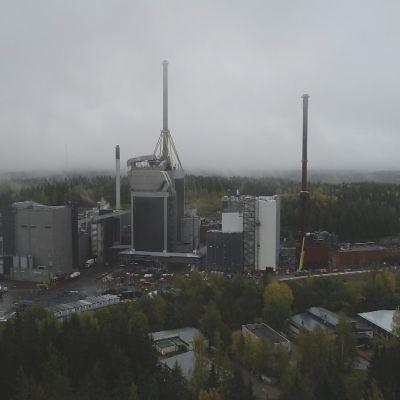 Lahti Energian Kymijärven voimalaitos.