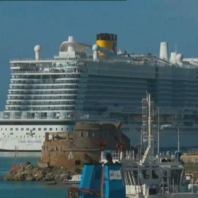 Kryssningsfartyg i Italein
