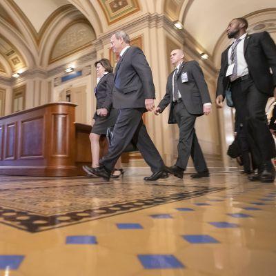 Trumpin virkarikosoikeudenkäynnin loppupuheenvuorot senaatissa