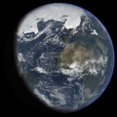 Maapallo viimeisen jääkauden aikana