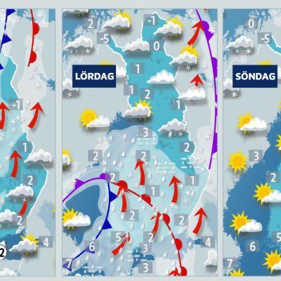 Väderkartor
