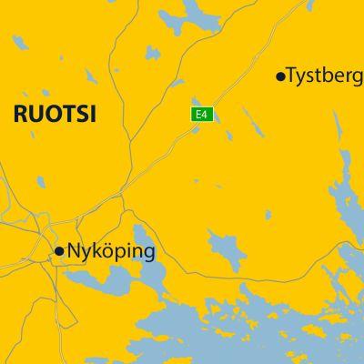 Nyköping kartta