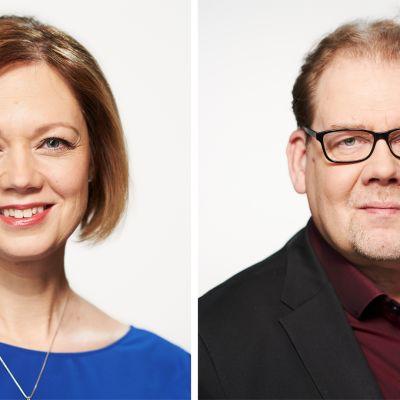 Marit af Björkesten ja Ville Vilen.