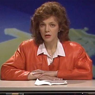 Toimittaja Raija Pelli Poliisi-TV:ssä