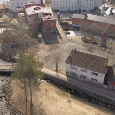 Sahasaaren alue Oulun Hupisaarilla