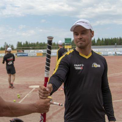 Jussi ja Sami Haapakoski Pattijoen treeneissä.