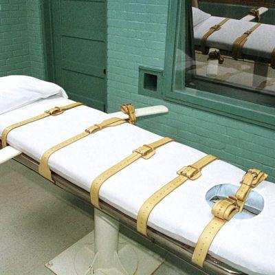 Huntsvillen vankilan teloituskammio vuodelta 2000.