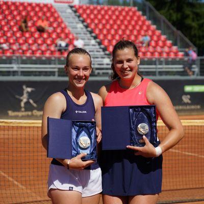 Anastasia Kulikova kukisti TaTS Open -tennisturnauksen loppuottelussa Viron Elena Malyginan.