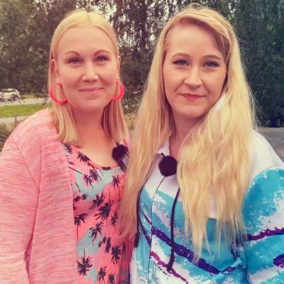 Janni Rikama ja Jenna Hynninen.