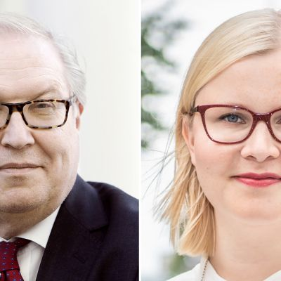Sture Fjäder ja Maria Teikari