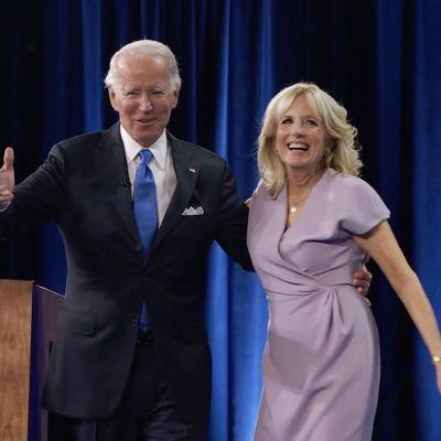 Joe ja Jill Biden 20. elokuuta.