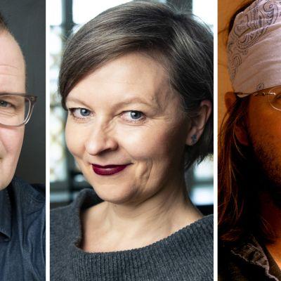 Kari Hotakainen, Anna Kortelainen ja David Foster Wallace