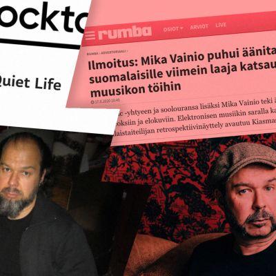 Kulttuuricocktailin ja Rumban Mika Vainio -artikkelit