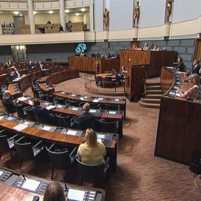Eduskunnan täysistunto 3.9.2020
