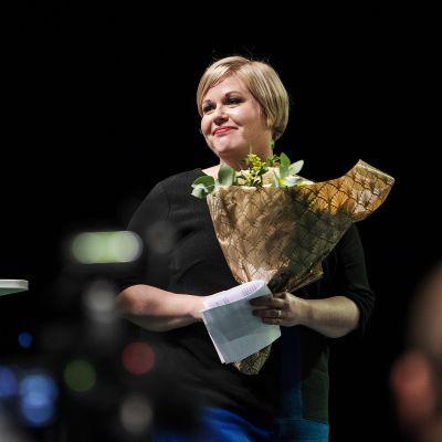 Keskustan uusi puheenjohtaja Annika Saarikko