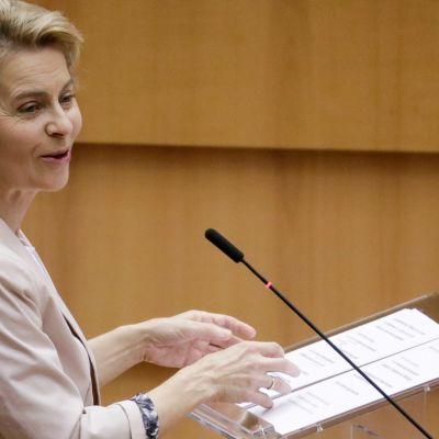 EU-komission puheenjohtaja linjaa puheessaan unionin tulevaisuutta