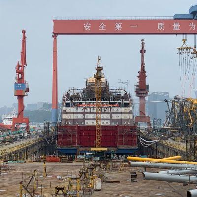 Viking Glory on ensimmäinen Viking Linen Kiinassa rakennuttama alus.