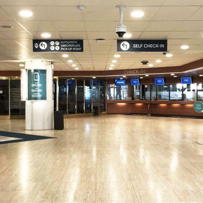 Silja Linen terminaali Turussa.