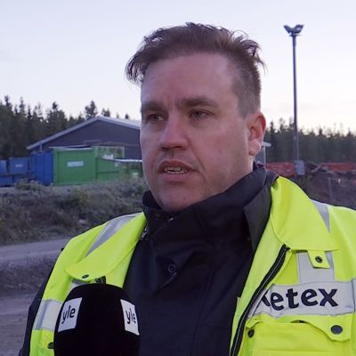Retex Oy:n toimitusjohtaja Rasmus Sigg.