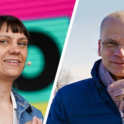 Jenny Matikainen ja Mika Hentunen