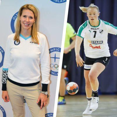 Simon Suoranta, Mikaela Ingberg och Johanna Hilli.
