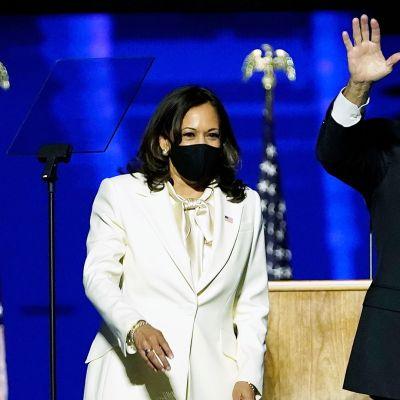 Biden ja Harris kommentoivat USA:n talouden tilaa