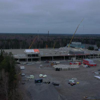 Prisman rakennustyömaa