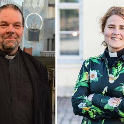 Jouni Lehikoinen ja Mari Leppänen ovat ehdolla Turun hiippakunnan uudeksi piispaksi.