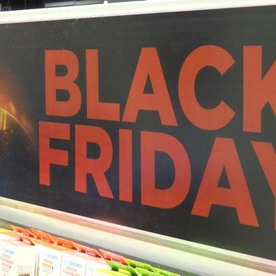 Black friday -mainos