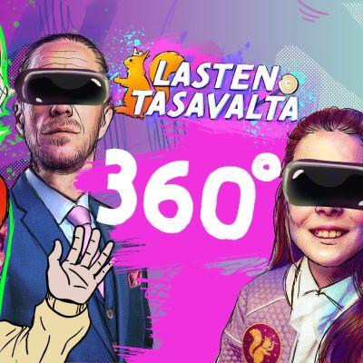 Kuva Lasten tasavalta -ohjelman 360-pelistä